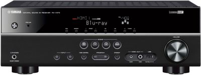 YAMAHA RXV373 3D READY HOME CINEMA RECEIVER (BLACK)