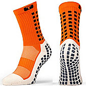 Trusox Mid-Calf Sock Thin - Orange