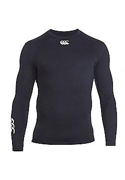 Canterbury Baselayer Cold Mens Long Sleeve Top Shirt - Black