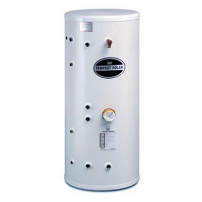 Telford Tempest Solar Twin Coil Unvented INDIRECT Stainless Steel Hot Water Cylinder 200 LITRES