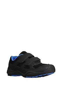 F&F Double Riptape Hiker Micro-Fresh® Trainers - Black