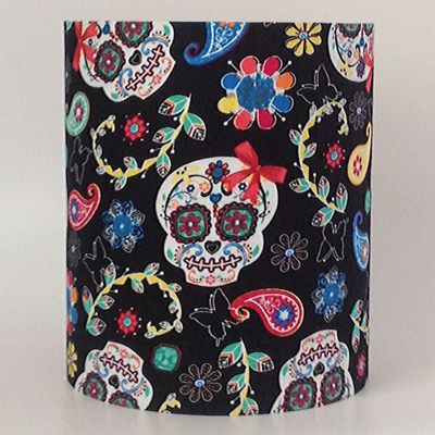 Day Of The Dead, Medium Fabric Light Shade