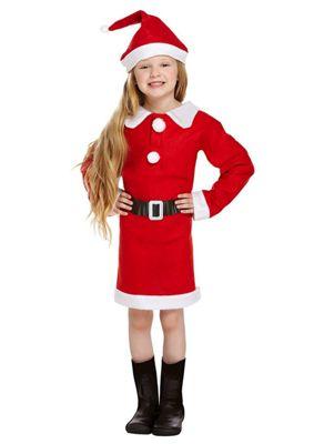 59fe60edd75 Children's Christmas Santa Mrs Claus Nativity Fancy Dress Costume - 7-9  Years