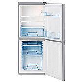 LEC T5039S Fridge Freezer in Silver