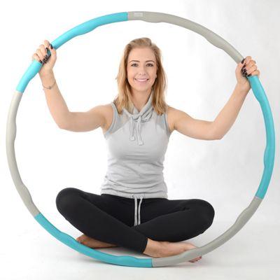 Core Balance Fitness Hula Hoop 1.2kg - Teal