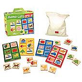 Goula Memo Lotto Wooden Game