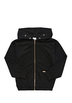 F&F Zip-Through Hoodie - Black