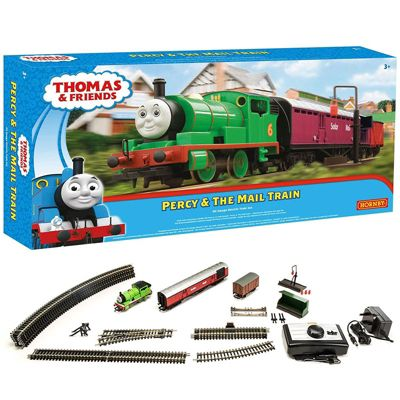 Hornby Set R9284 Percy And The Mail Train - Thomas & Friends Train Set