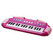 Carousel Pink Rock Star Keyboard