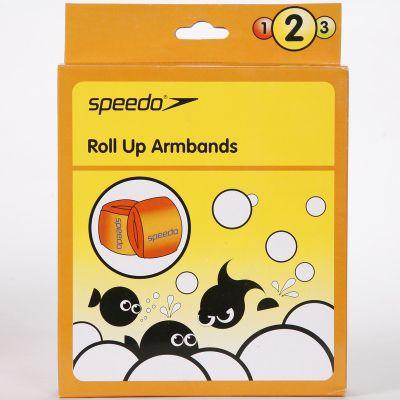 Speedo Orange Roll Up Junior Armbands 2-12 Years