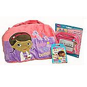 Doc McStuffins Travel Pack Bundle Children Fun Activity Play Bag TV Kids