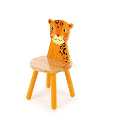 Tidlo Wooden Chair - Leopard
