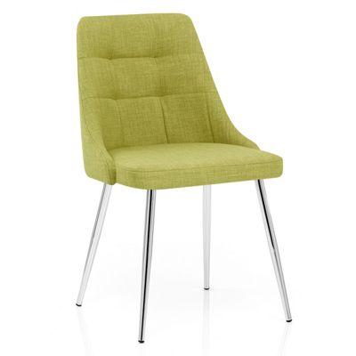 Shanghai Dining Chair Green Fabric