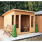 Pent Style Summerhouse Garden Wooden Summerhouse
