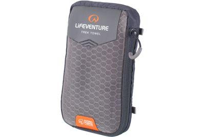 Lifeventure HydroFibre Trek Towel Large Grey