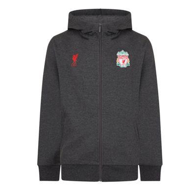 Liverpool FC Boys Zip Hoody Grey 6-7 Years