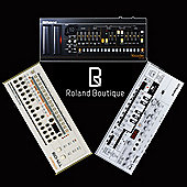 Roland Boutique Complete Synth Collection - Includes Roland TB-03, TR-09, VP03
