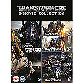 Transformers: The Last Knight 5-Film Collection DVD