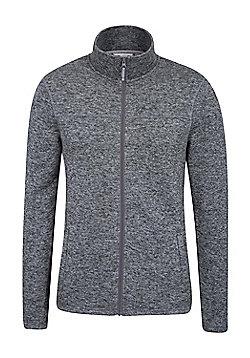 Mountain Warehouse Idris Mens Full Zip Fleece - Grey