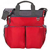 Skip Hop Duo Signature Nappy Bag - Red