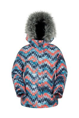 Zakti ICE CRYSTAL GIRLS PRINTED SKI JACKET