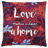 Tesco Love Makes a House a Home Cushion