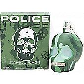 Police To Be Camouflage Eau de Toilette (EDT) 75ml Spray For Men
