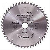 Trend CSB/19024A Craft Saw Blade 190MM X 24T X 16MM 1 Silver