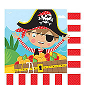 Little Pirate Napkins - 2ply Paper