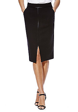 F&F Crosshatch Pencil Skirt - Black