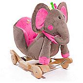 KinderKraft Rocking Elephant (Pink)