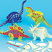 Dinosaur Wood Craft Kits (Pack of 5)