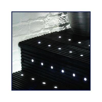 MiniSun Pack of 20 White LED 15mm Decking Lights