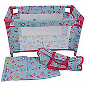 Dolls World Deluxe Travel Cot