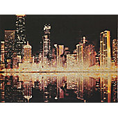 Glitter City Canvas 57cm x 77cm