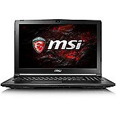 "MSI GL62M 7RD Core i5 8GB 1TB HDD nVidia GeForce GTX 1050 2GB Win 10 15.6"" Black Gaming Laptop"