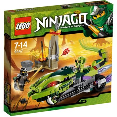 LEGO Ninjago Lasha's Bite Cycle 9447