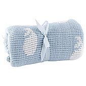 Tesco Whale Chenille Baby Blanket