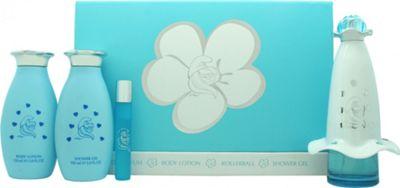 The Smurfs Smurfette Mania Gift Set 100ml EDP + 150ml Body Cream + 150ml Body Lotion + 8ml EDP Rollerball For Women