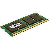 Crucial Technology 2GB DDR2 800MHz (PC2-6400) CL6 SODIMM 200pin Memory Module