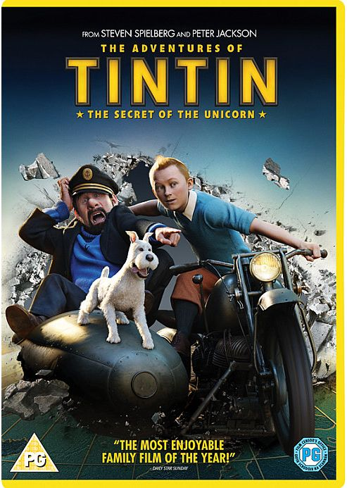 The Adventures Of Tintin - The Secret Of The Unicorn (DVD)