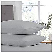 Silent Night Silver Pillowcase