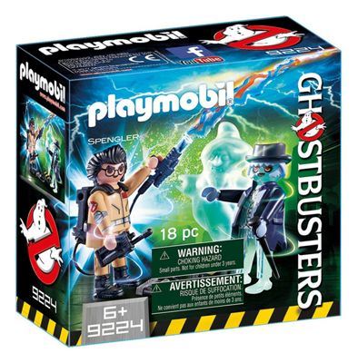 Playmobil Ghostbusters with Ghost