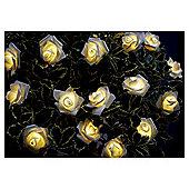 25 Rose Solar String Lights