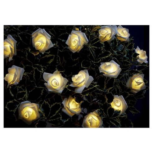 Buy 25 Rose Solar String Lights from our Solar Lights range - Tesco