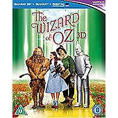 The Wizard of Oz - 75th Anniversary Edition Blu-ray 3D + Blu-ray