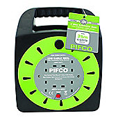 Pifco 25m 4 Way Extension Cable Reel