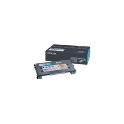 Lexmark C500, X500, X502 Cyan High Yield Toner Cartridge (3K)