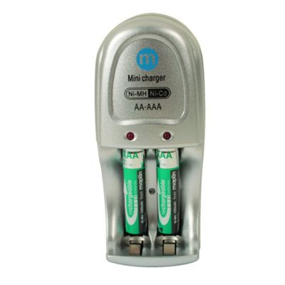 Mini AA and AAA Battery Charger