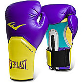 Everlast Pro Style Elite Training Boxing Gloves - Purple